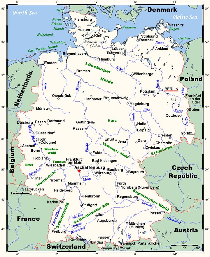 Shortterm German language courses in Germany Berlin Aschaffenburg